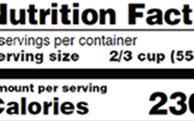 Will the New Nutrition Labels Make a Difference?